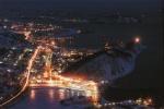 Ночной Петропавловск-Камчатский. Вид с Мишенной сопки