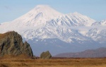 Величественные вулканы Камчатки